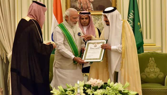 PM Modi conferred Saudi Arabia's highest civilian honour - Watch