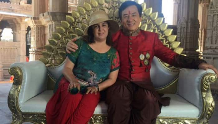 Jackie Chan dances to Farah Khan's tunes—See pics!
