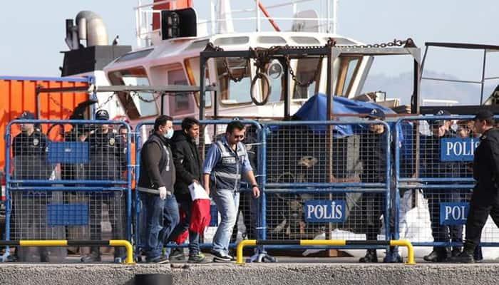 Migrants sent back from Greece arrive in Turkey under EU deal