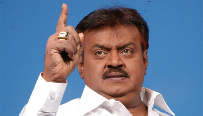 DMDK chief Vijayakant expels 10 functionaries, including 3 MLAs after they openly oppose alliance with PWF