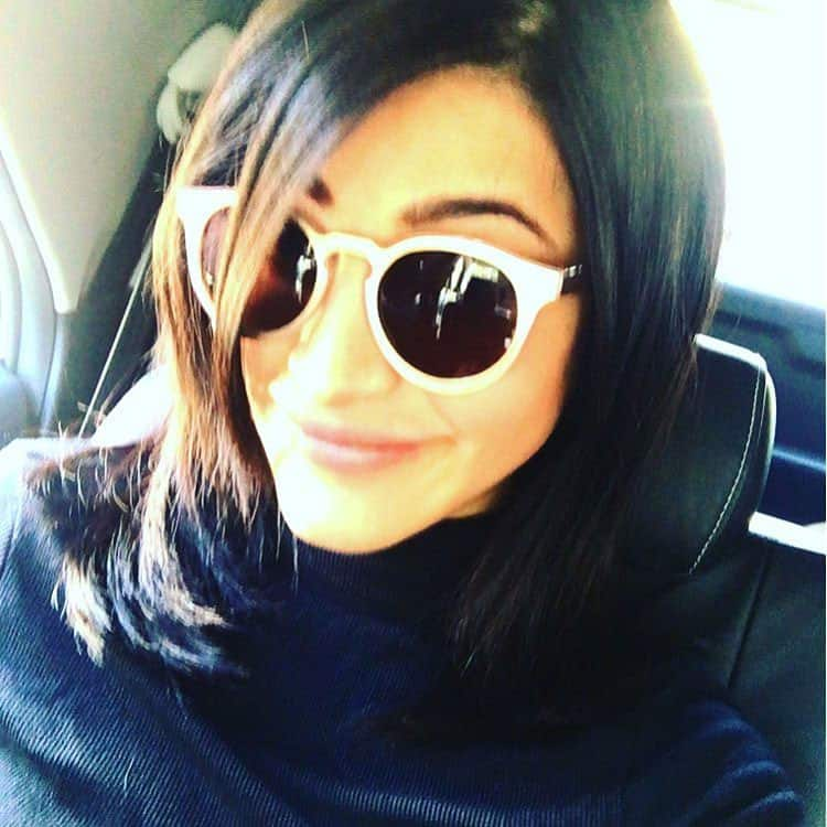 shruti haasan :- Hello chennai !!!! -instagram
