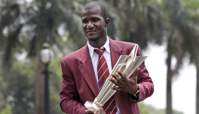 Grand honour: St Lucia's main ground to be named after Darren Sammy post World T20 triumph