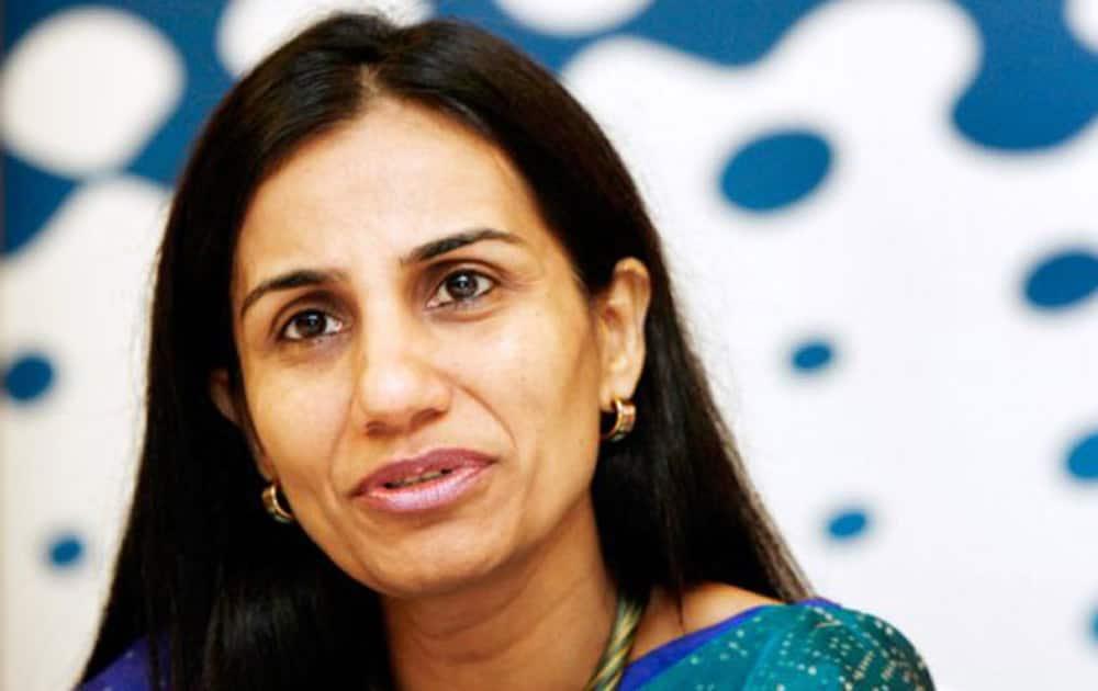 6. Chanda Kochhar (Rank  22)