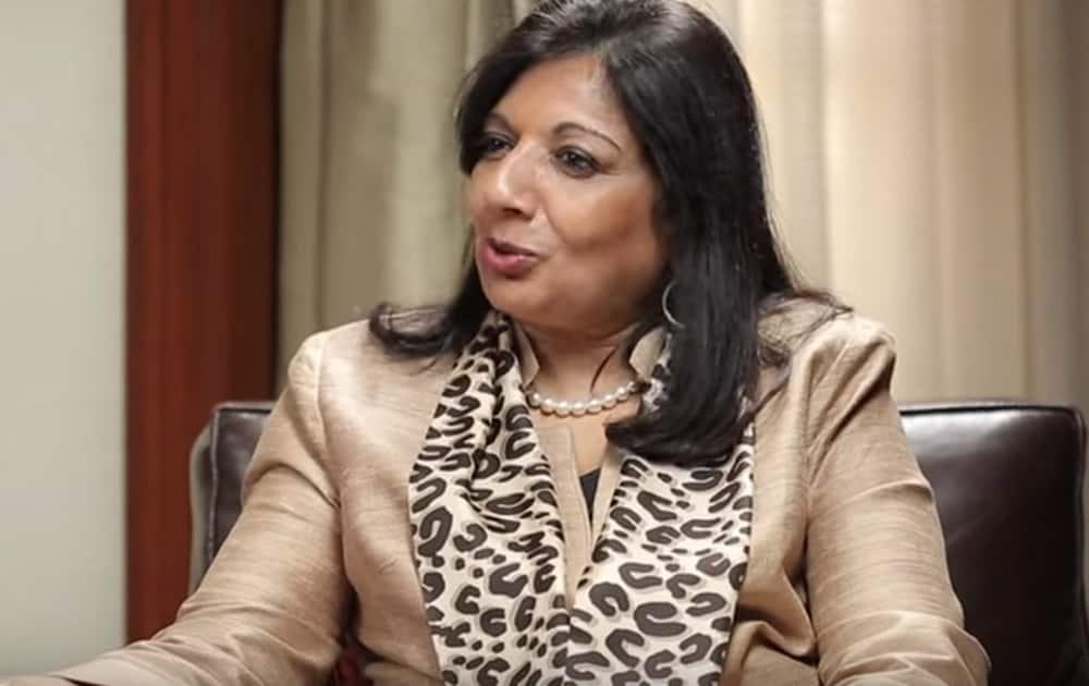 8. Kiran Mazumdar-Shaw (Rank 28)