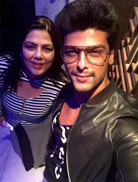 having u as a mother is d best gift I ve received  frm  God , ur n u wil always be my favourite 'ki' maa happy bday. Twitter@KushalT2803