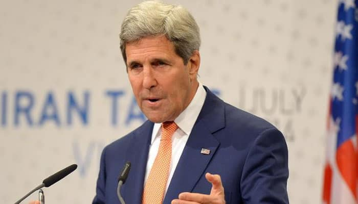 Kerry arrives in Iraq for talks on war against Islamic State