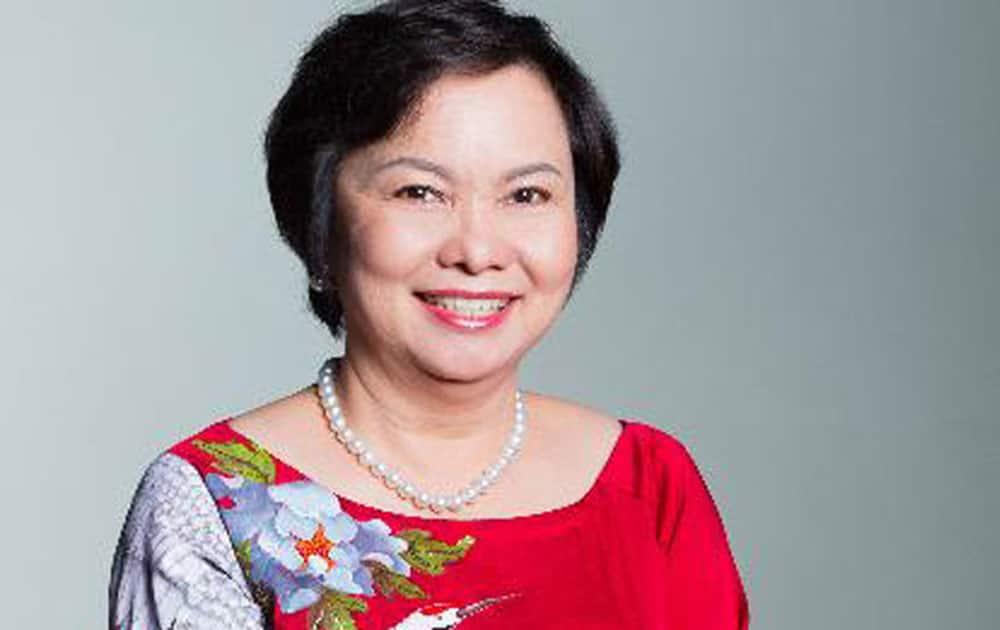 Cao Thi Ngoc Dung 58 (Vietnam) Chairman & CEO Phu Nhuan Jewelry