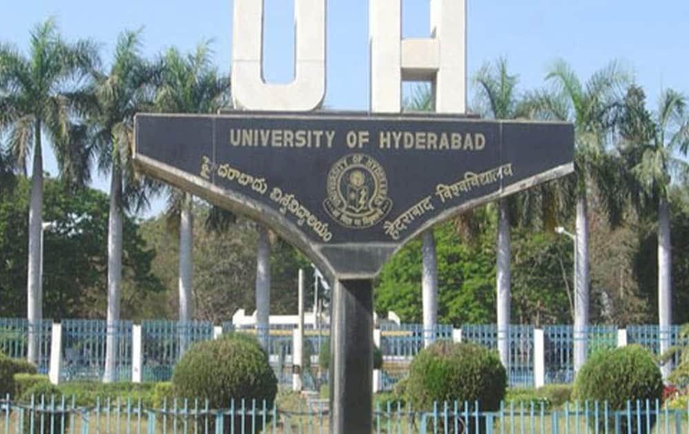 4. University of Hyderabad, Hyderabad