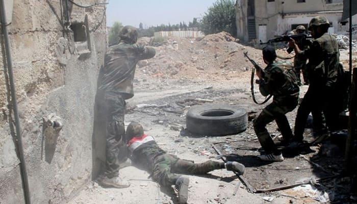 Fierce fighting kills 35 around Syria's Aleppo: Monitor