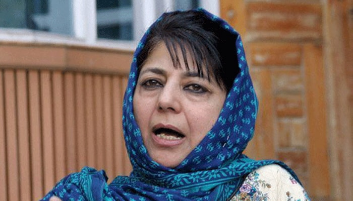 Mehbooba Mufti expresses concern over slow pace of Jhelum dredging