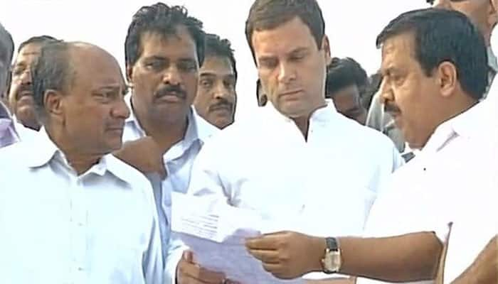 Rahul Gandhi visits Puttingal Devi temple fire tragedy site in Kollam