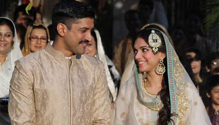 It is all out in the open now for Farhan Akhtar and Aditi Rao Hydari!