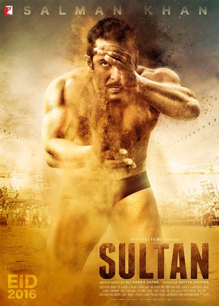 Salman Khan :- Sultan ka Pehla Daav #SultanPoster @SultanTheMovie -twitter
