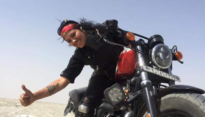 Country's leading woman biker Veenu Paliwal dies in road accident in Madhya Pradesh