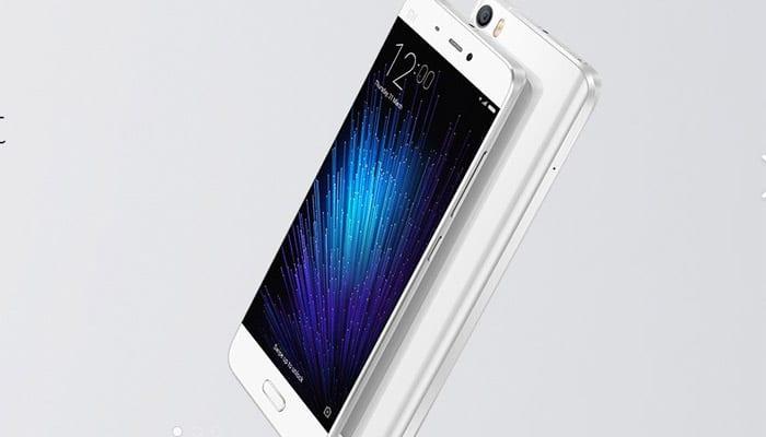 Xiaomi Mi 5, Redmi Note 3 flash sale today at 2 pm
