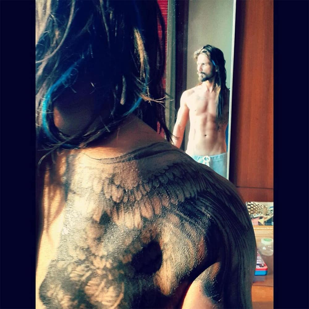 Shahid Kapoor :- Tommy in the making #UdtaPunjab -instagram