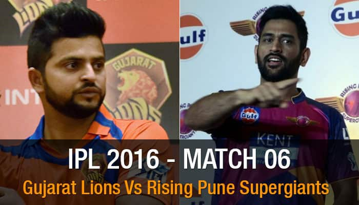 IPL 2016: Rising Pune Supergiants vs Gujarat Lions - It's Suresh Raina vs MS Dhoni for first time since inception of tournament