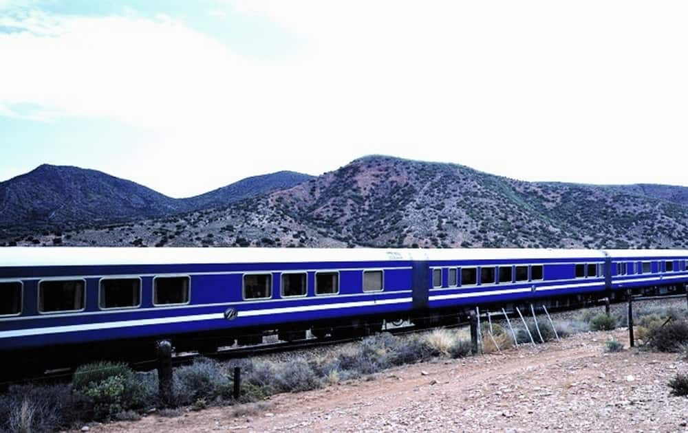 Blue Train, Route: South Africa (Pic courtesy: Wikipedia)
