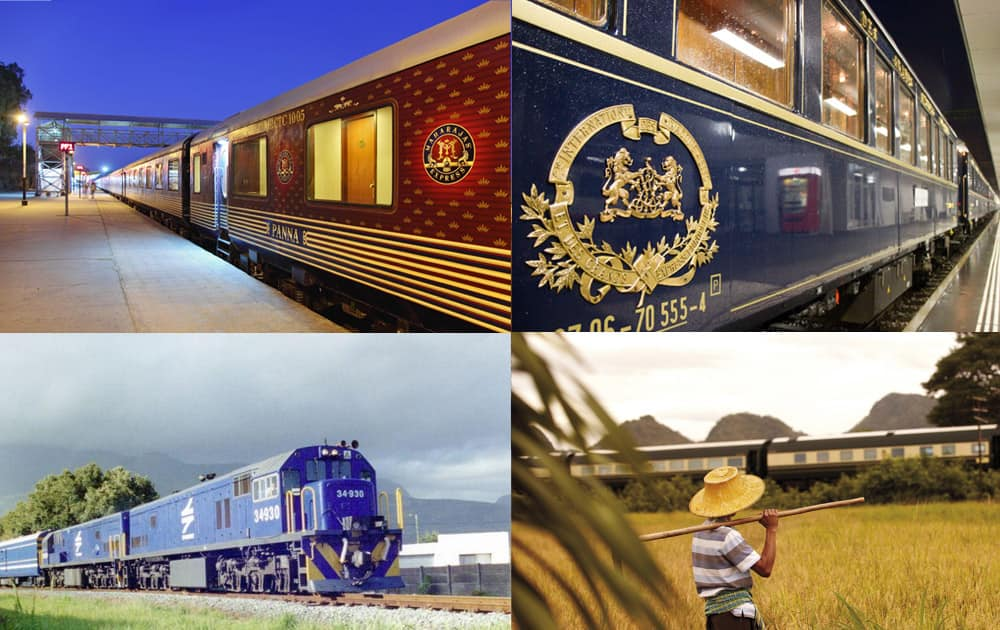 A New World Wealth survey has taken out top destinations for the super-rich. Here are top five luxurious trains in the world.
