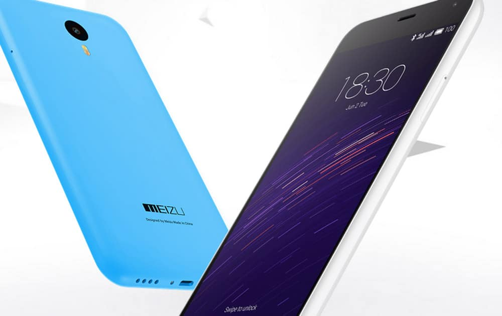 Meizu M2 Note with 5.5-inch screen, 13MP camera, 1.3GHz octa core processor available on Amazon Rs 9,999.