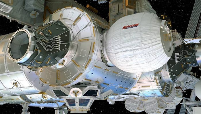 NASA successfully installed first expandable habitats to ISS