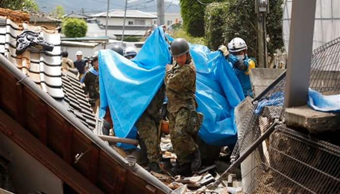 Death toll from latest Japan quake jumps to 18: Officials