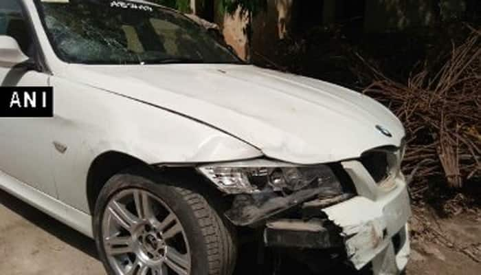 Hit-and-run case in Noida; speeding BMW knocks down four people