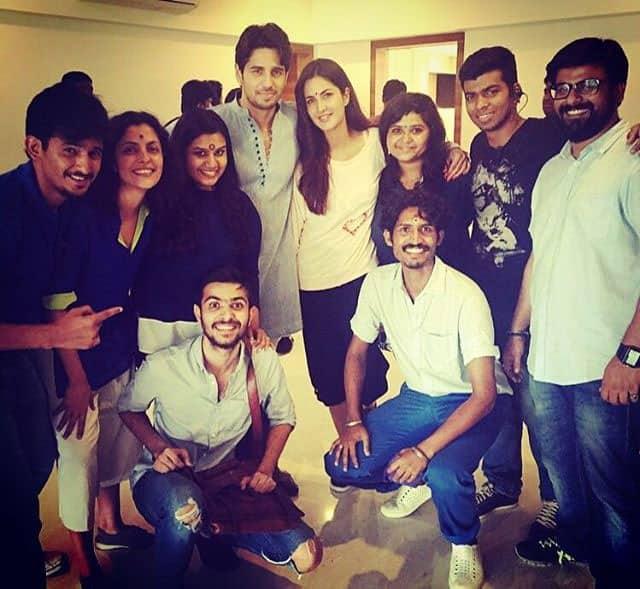 Sidharth Malhotra :- It's a film wrap ! Thank u nityamehra19 n team for all the hard work and fun,special film fond… -instagram