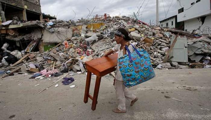 Ecuador quake kills 272 and number `will rise`: President
