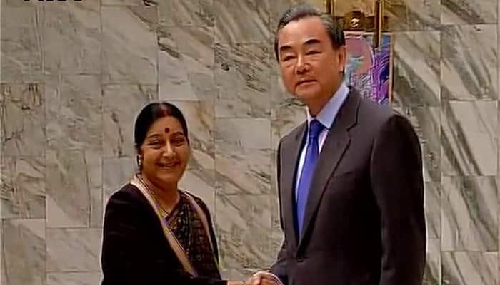 Sushma Swaraj raises Maulana Masood Azhar issue with Chinese counterpart