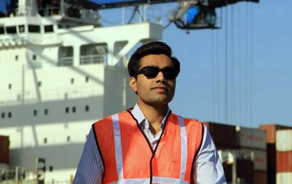 Karan Adani, son of Adani Group Chairman Gautam Adani.