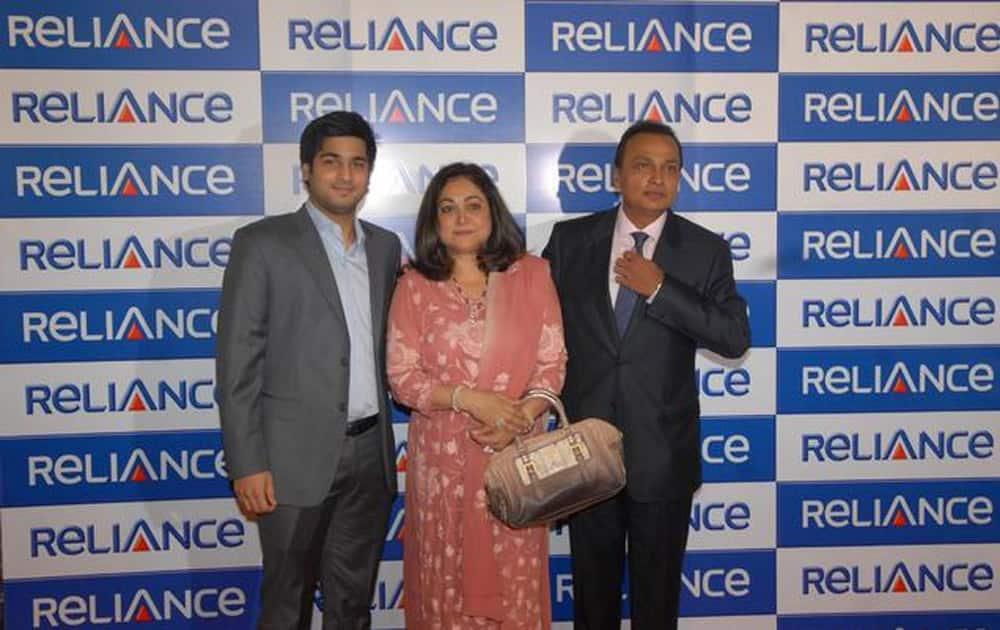 Jai Anmol Ambani, son of Reliance Group Chairman Anil Ambani.