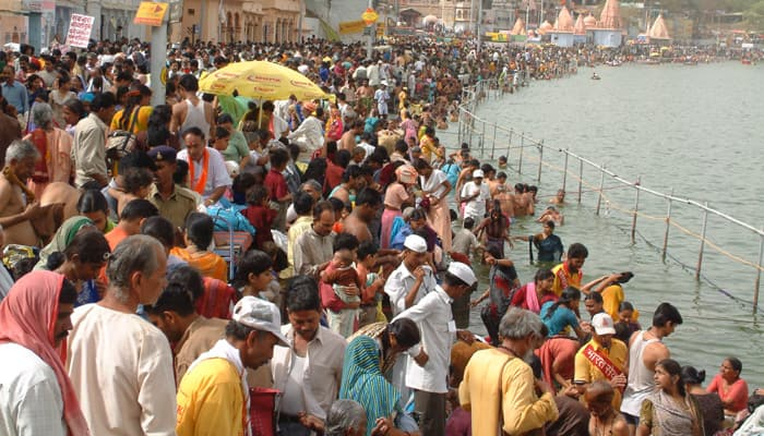 Kumbh Mela in Ujjain: From erecting 131-foot high trident to 97 lakh kg of marigold flowers...