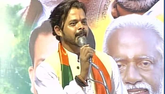 Kerala Assembly elections: My father was leftist till last month, but now he is BJP supporter, says Sreesanth