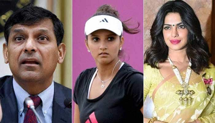 Raghuram Rajan, Sania Mirza, Priyanka Chopra among 100 most influential people named by Time magazine