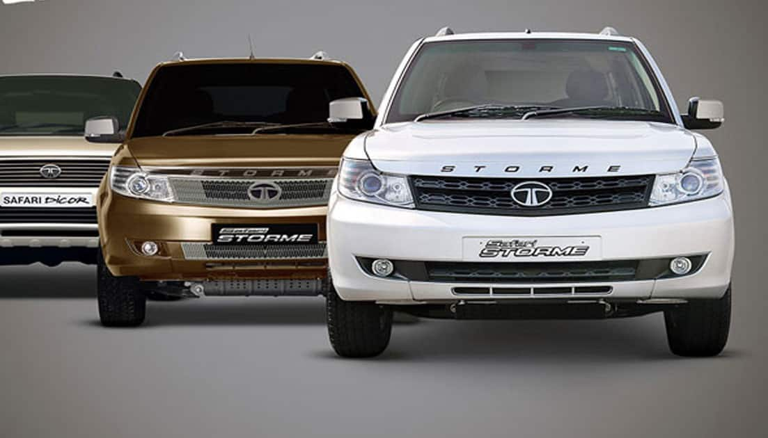 2. Tata Safari Storme - Rs10 lakh - Rs14.4 lakh (ex-showroom, New Delhi)
