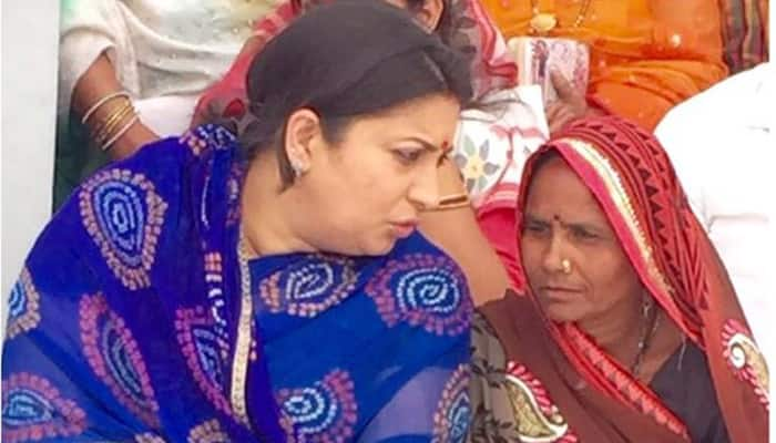 No panchayat ghar in Rahul Gandhi's constituency? What all Smriti Irani found out when she visited Amethi