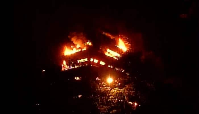 Major fire breaks out at Delhi's FICCI auditorium building, two fire officials seriously injured