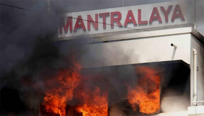 Fire breaks out at Maharashtra Mantralaya, no damage reported