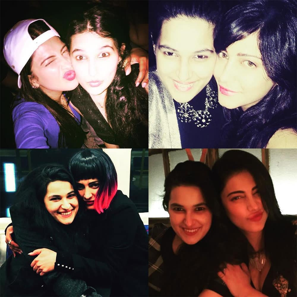 shruti haasan ‏:- Happy happy birthday to natashaabhalla tough,caring,totally mental,incredibly wise and one of… -instagram