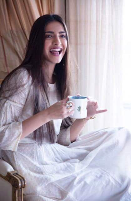 Sonam Kapoor :- I'm waiting to announce something special guys! I know I've been getting feed back about h -twitter