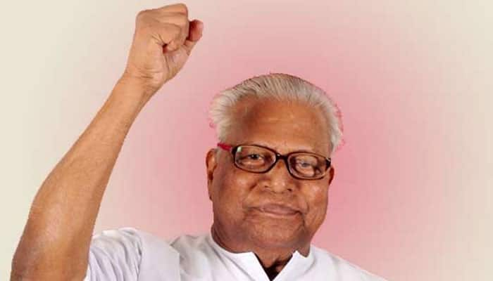 Kerala Assembly Elections 2016: VS Achuthanandan's one line speech stuns CPM workers