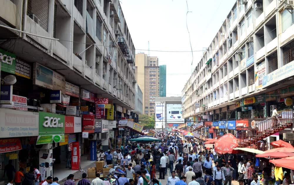 Nehru Place, Delhi: This market has earned the reputation of the world's most notorious markets for pirated goods particularly in software, optical media containing movies and music, and counterfeit goods.