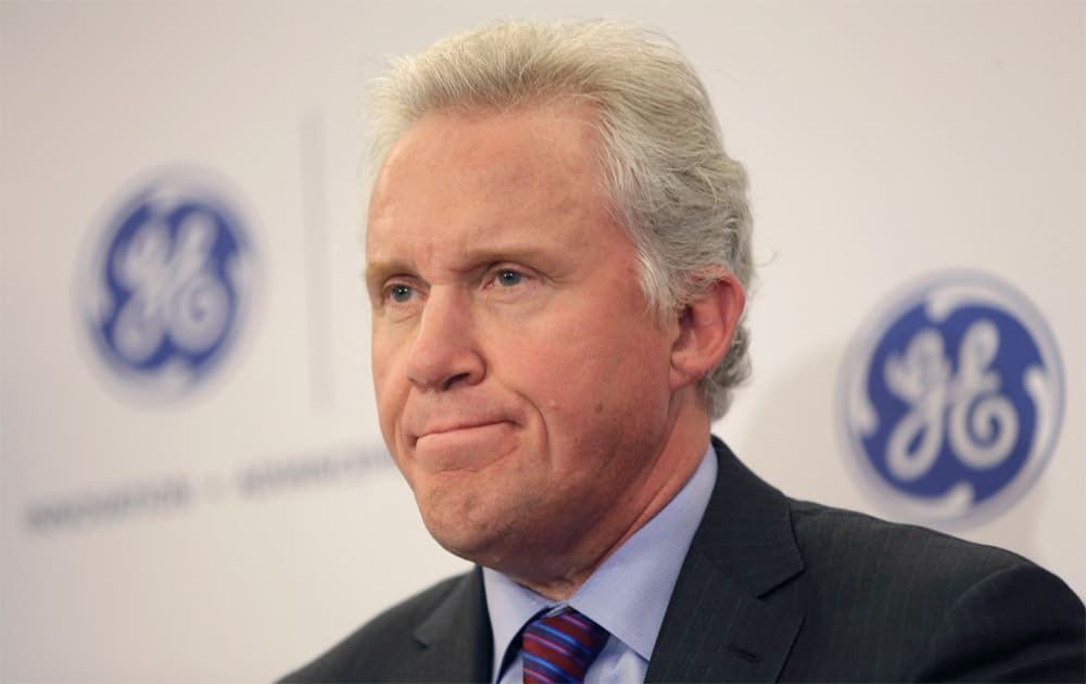 5. General Electric's Jeffrey R Immelt with a total compensation of USD 26.4 million.
