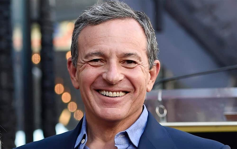 3. Robert A Iger of Walt Disney with with a total compensation of USD 43.5 million.