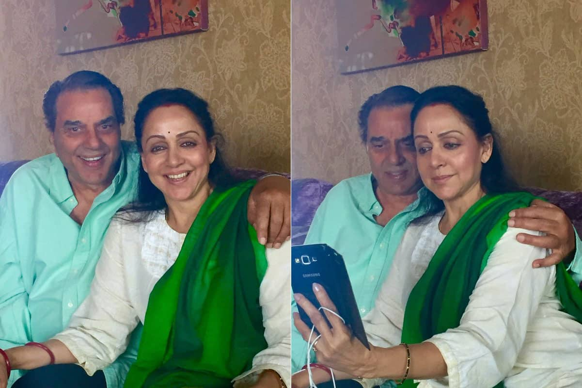 Yes today we celebrate 36 years of happiness to my mamma and papa ❤ love them too much ! - Twitter@Esha_Deol