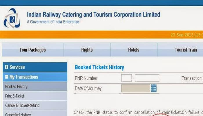IRCTC website feared hacked, information of lakhs may be stolen