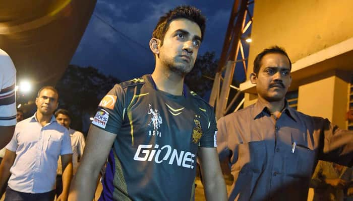 IPL 2016: Aren't role models entitled to have emotions? Asks Gautam Gambhir on chair-kicking incident