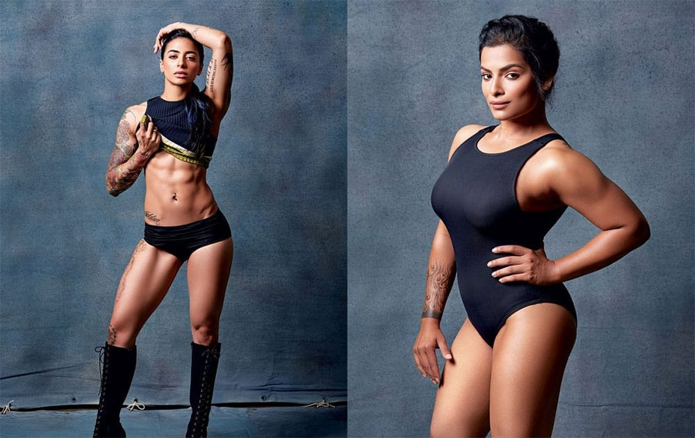 These muscular women are overthrowing every feminine stereotype: http://bit.ly/1W9Anvk- twitter@ELLEINDIA
