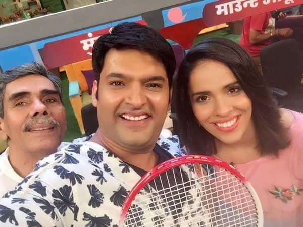Love u Kapil thank u so much for having me on the show loved it @KapilSharmaK9 - Twitter@NSaina